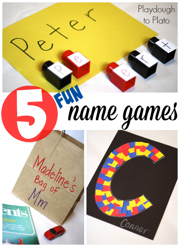 5 Fun Name Games for Kids