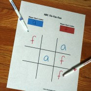Letter and Word Tic-Tac-Toe