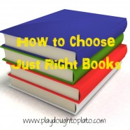 How to Choose Just Right Books