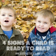 4 Signs Your Child Is Ready to Read