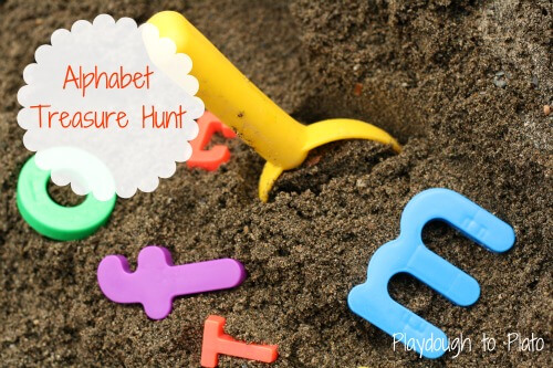 ABC Game: Alphabet Treasure Hunt