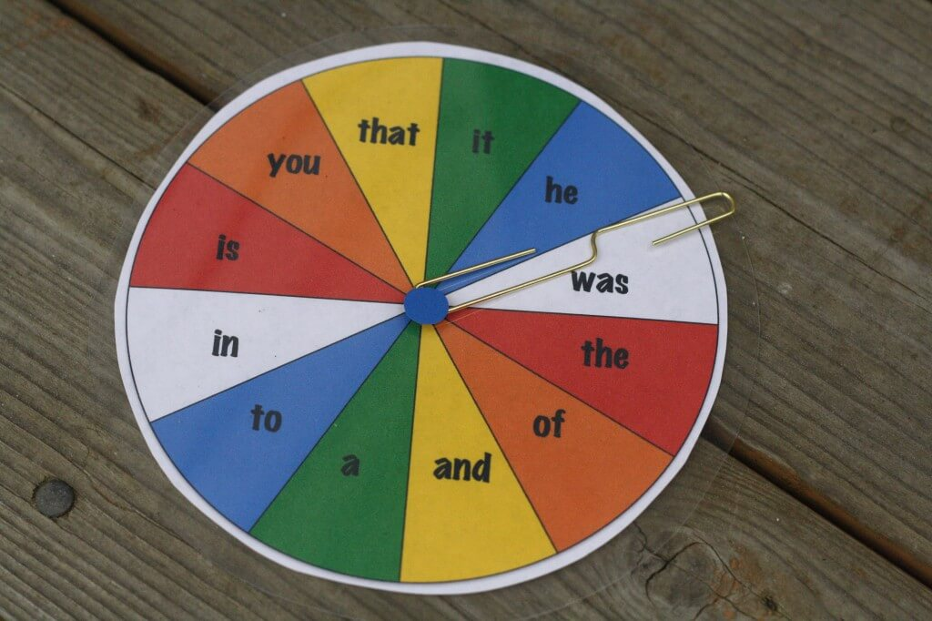 Spin a Word {Playdough to Plato}
