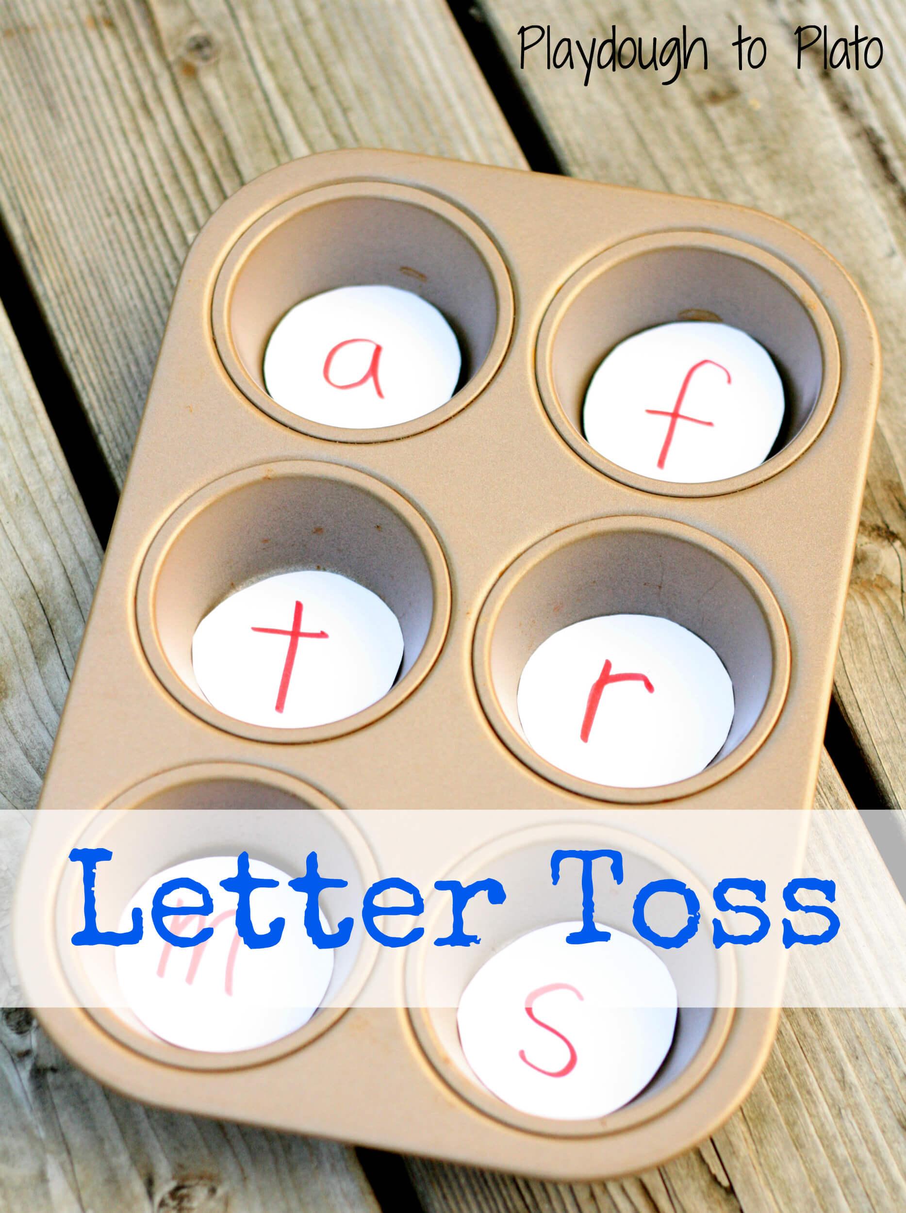 Letter Toss - ABC & 123