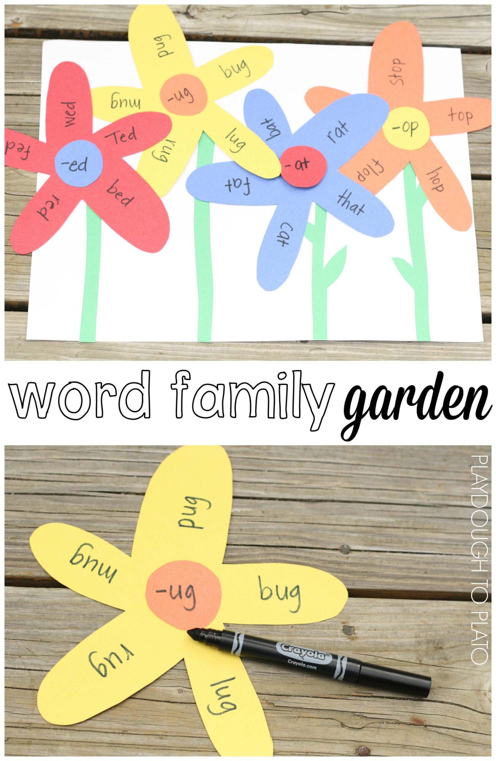 Word Family Garden