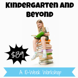 Kindergarten and Beyond