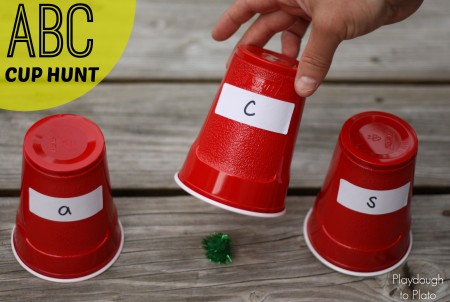 ABC Games: ABC Cup Hunt