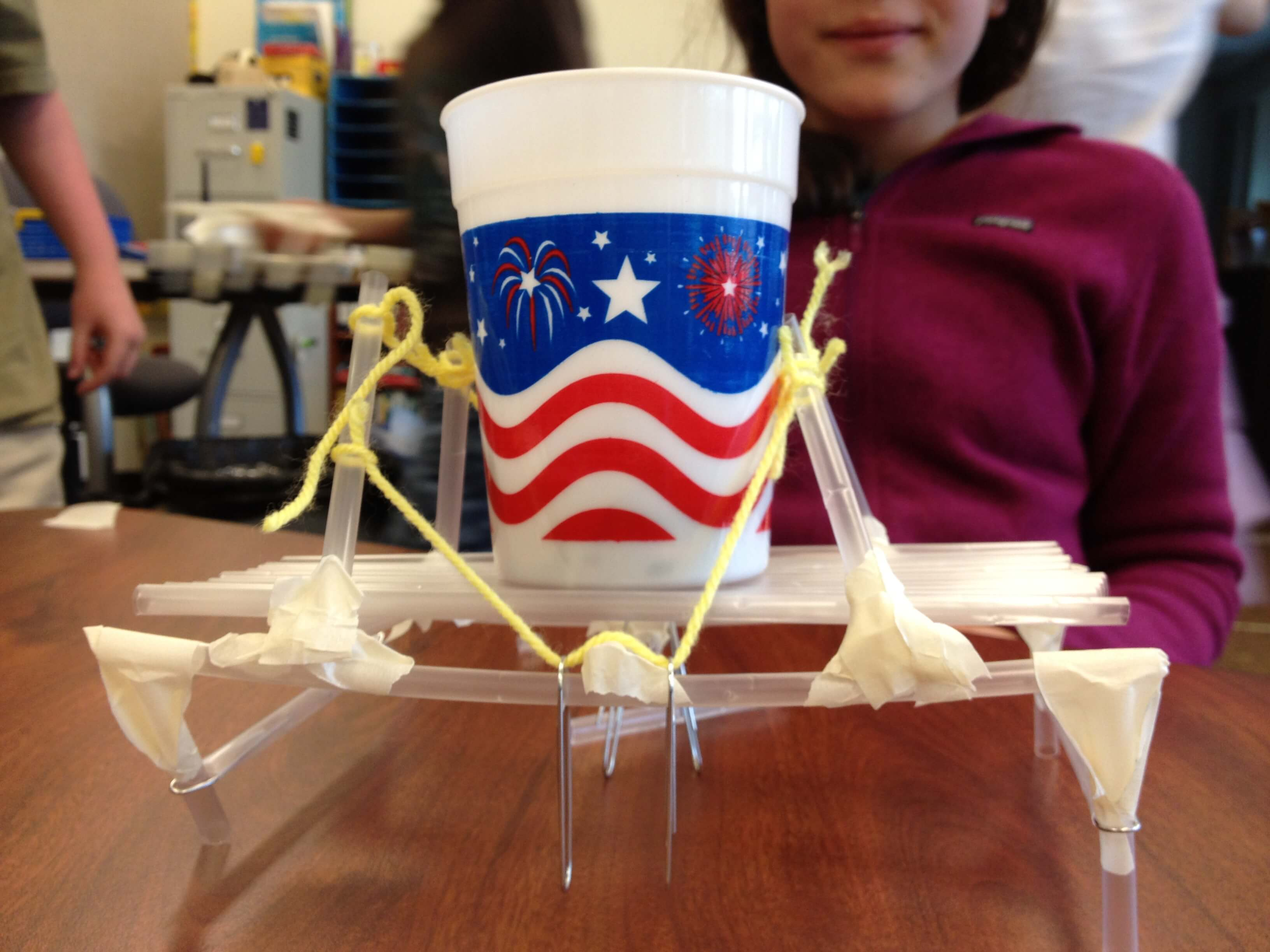 Stem Straw Bridges Playdough To Plato