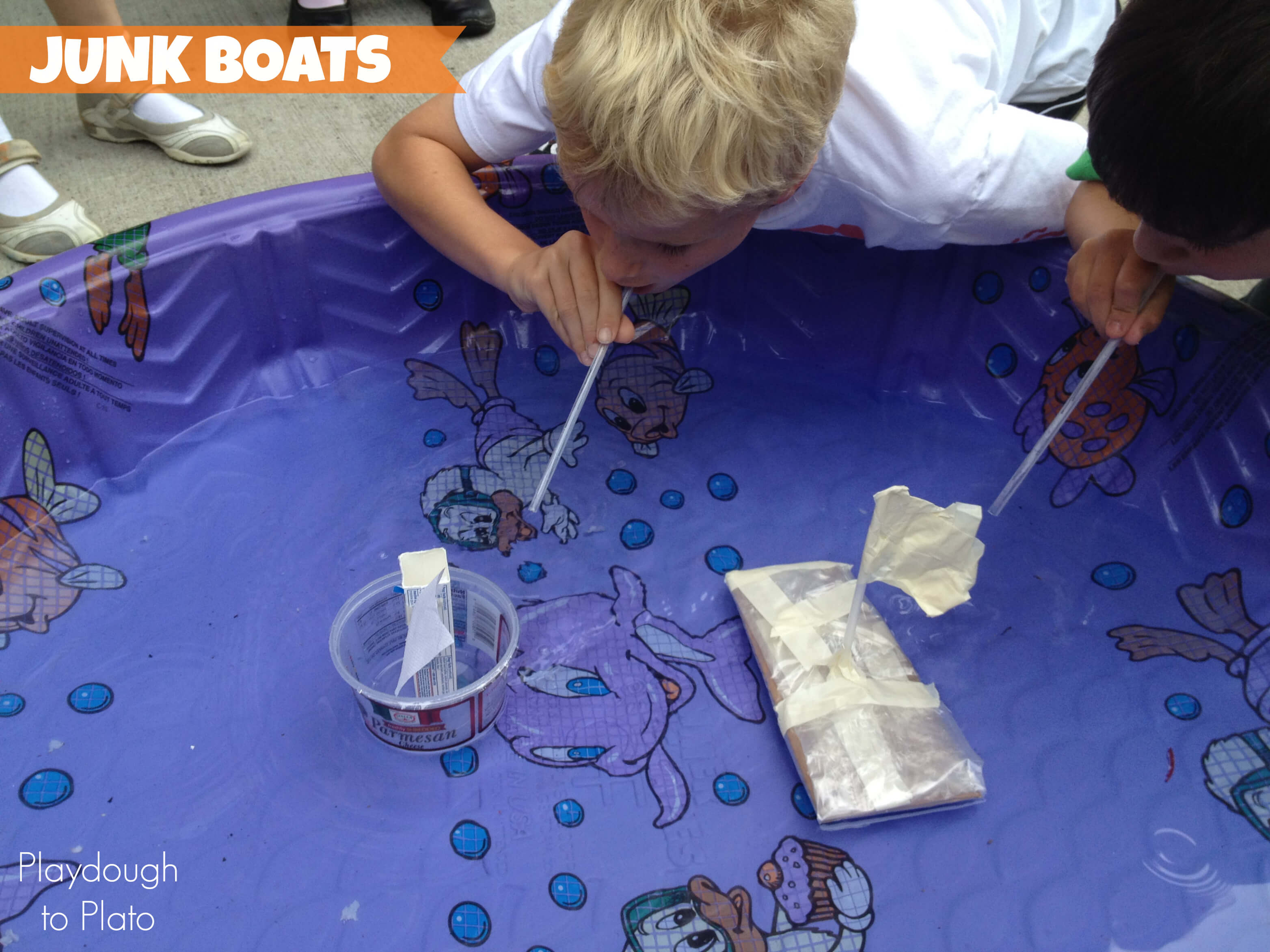 Stem Junk Boats Playdough To Plato