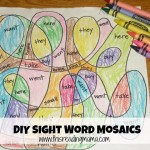 Sight Word Mosaics