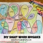 Sight Word Mosaics