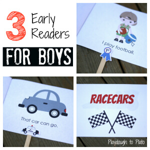 free printable, readers, early literacy, books for boys, ready set read, images