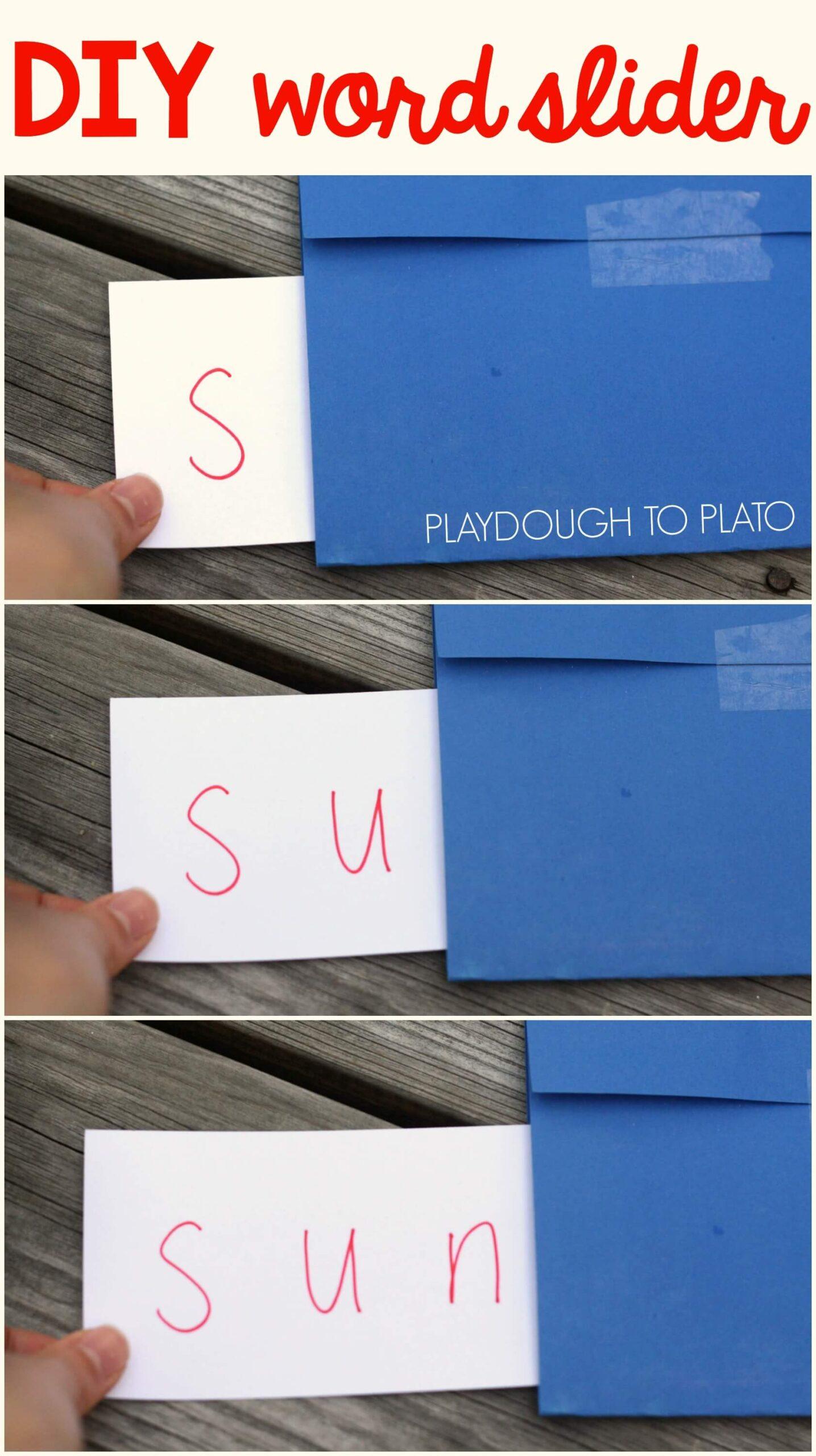 The Super Simple Word Slider