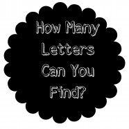 How Many Letters Can You Find?