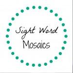 Sight Word Games: Sight Word Mosaics