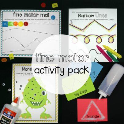 Fine Motor Activity Pack