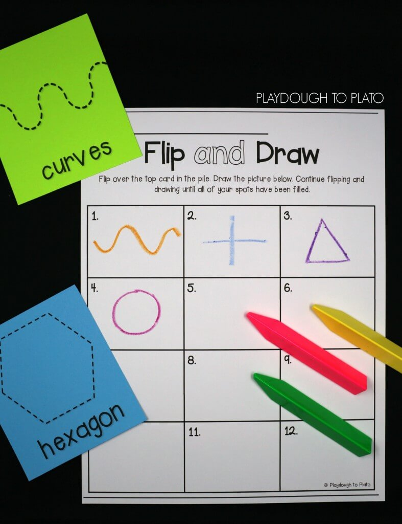 Flip and draw!