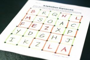 Magic Squares Sight Word Game