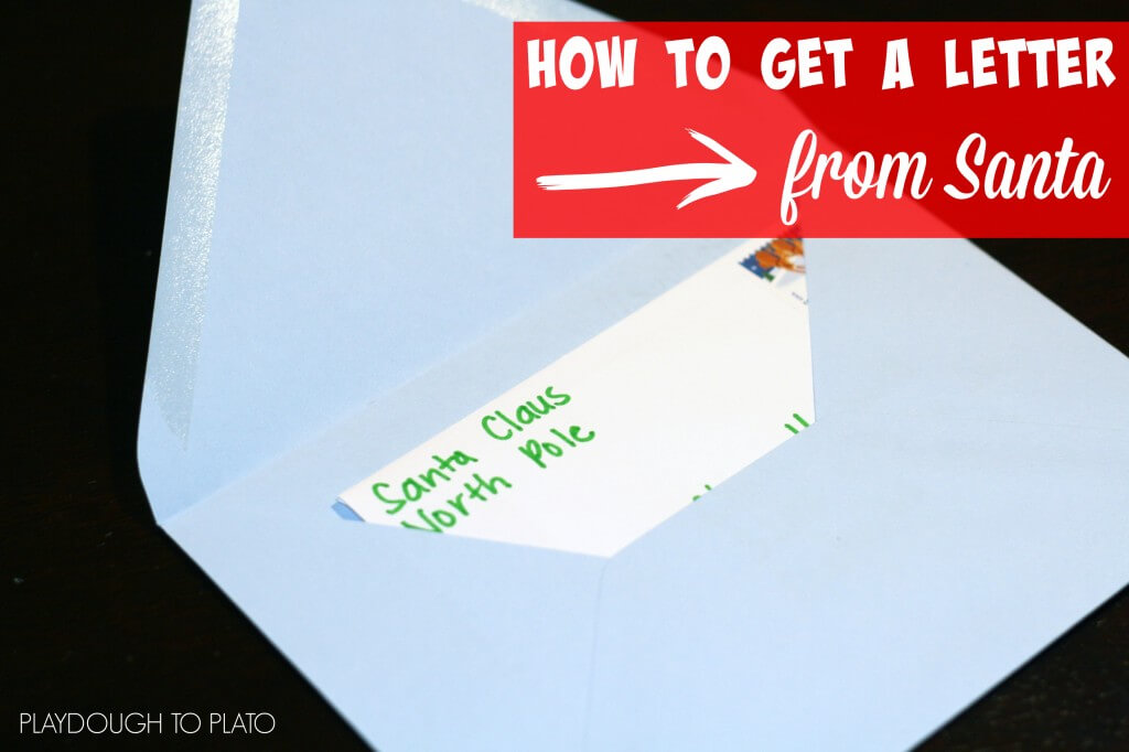 how to get a letter from santa in the mail playdough to With how to get a letter to santa by mail