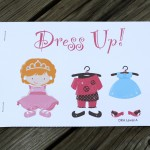 Dress Up! An Early Reader Book for Girls