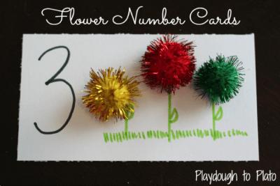 Learning Numbers: FlowerMath