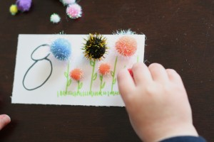 Flower Counting Cards