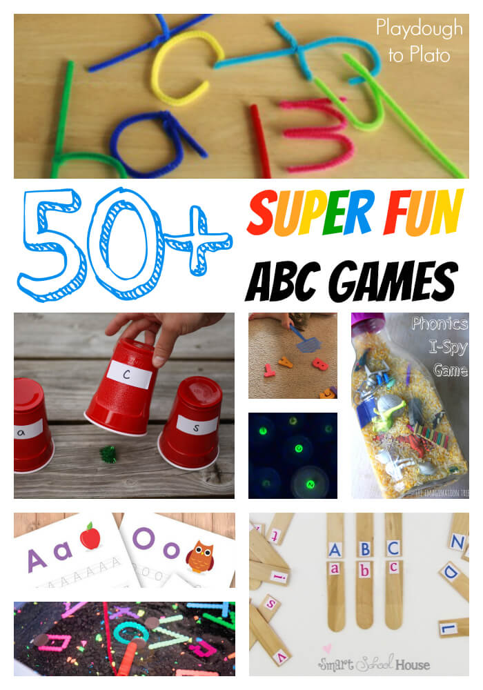 50 Fun ABC Games