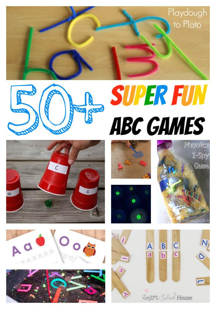 50 Fun ABC Games