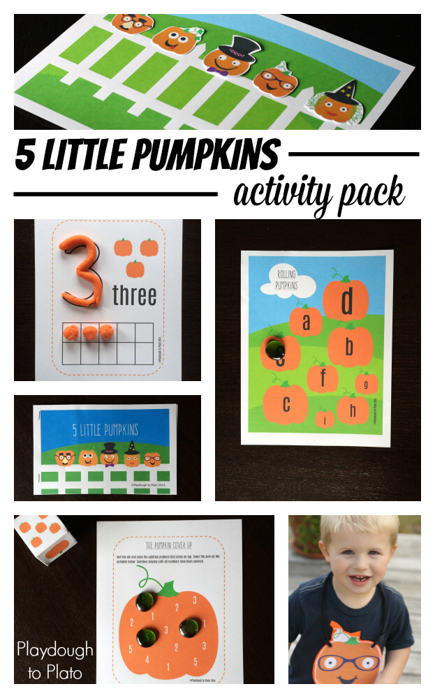 5 Little Pumpkin Activity Pack