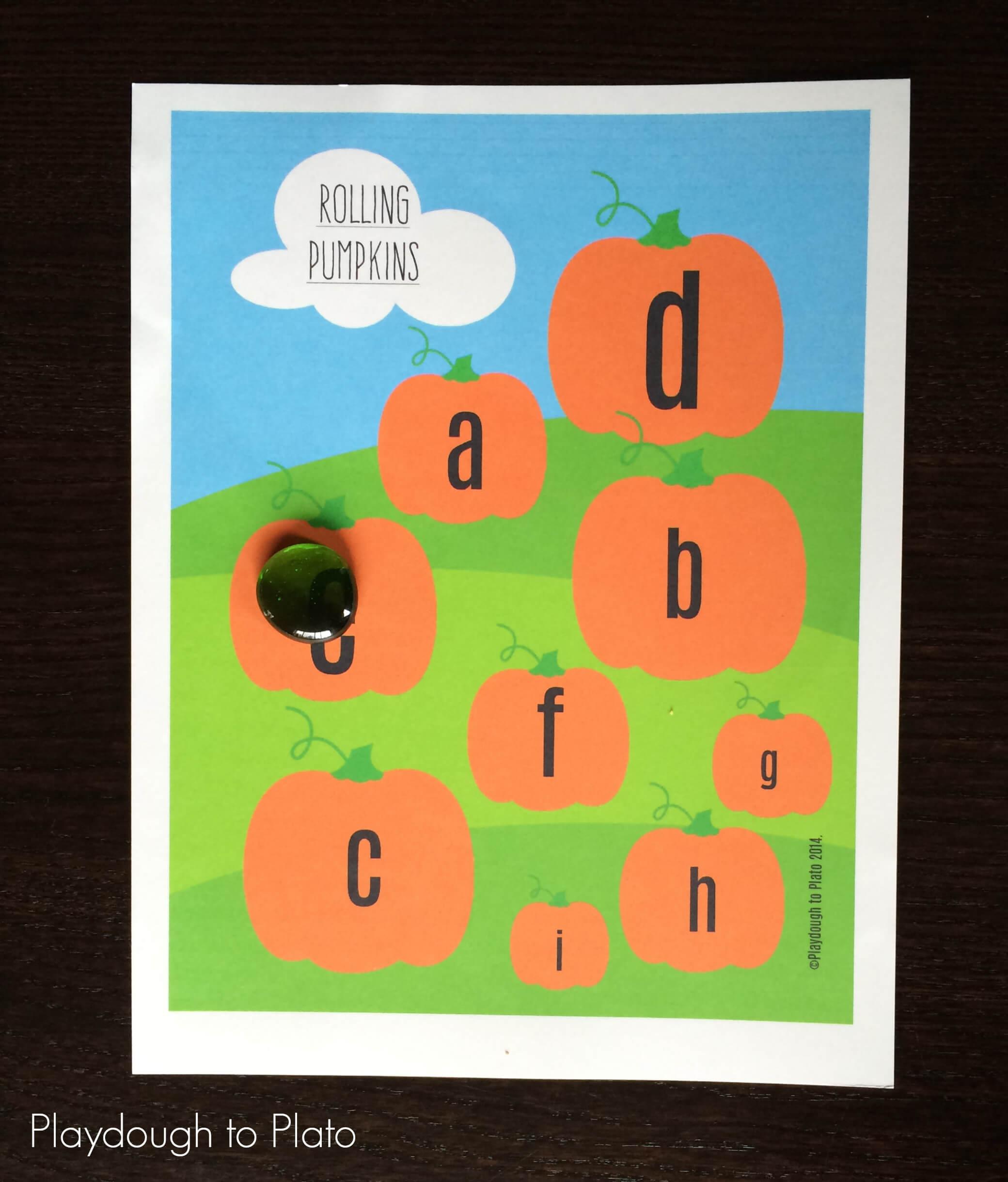 5 Little Pumpkins Literacy