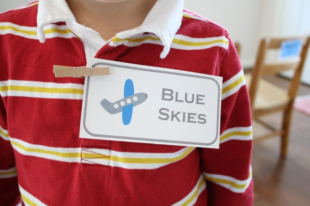 Free Printable Pretend Play Airplane Goodies. {Playdough to Plato}