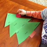 Sight Word Christmas Tree Game
