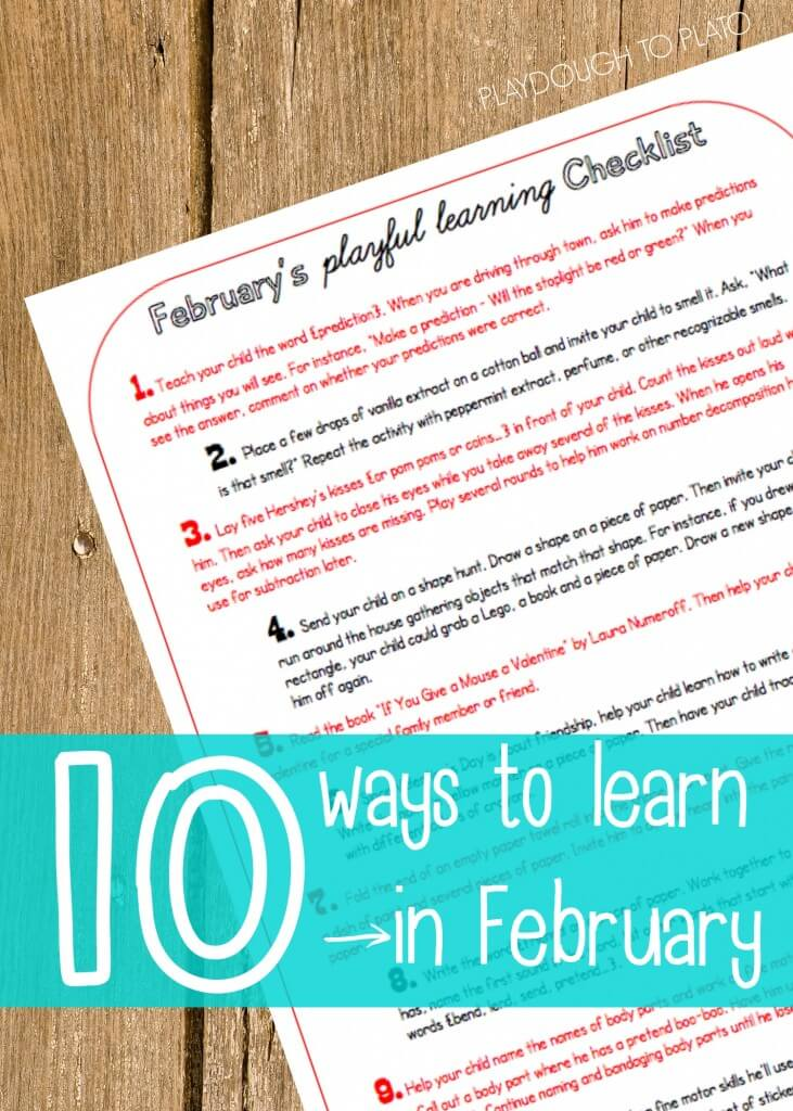 10 ways to learn in February