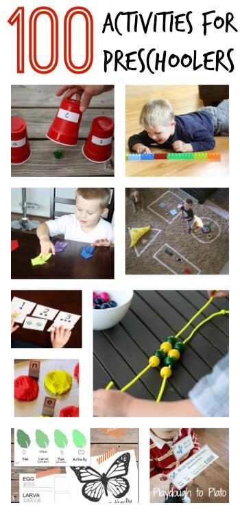 100 Activities for Preschoolers