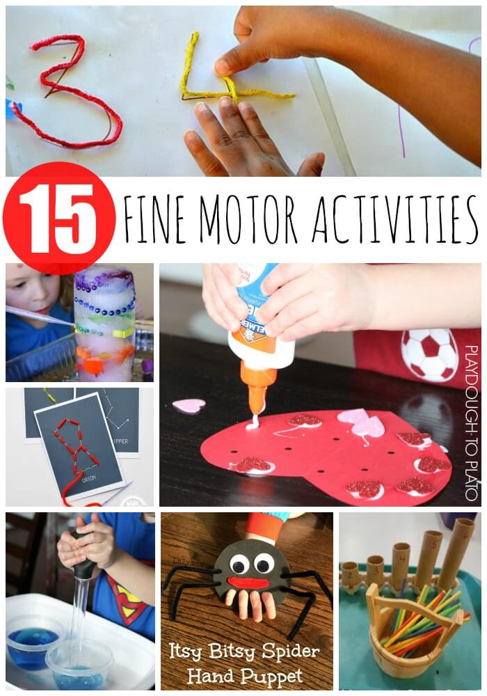 15 gotta' try fine motor activities. Fun ways to build preschoolers' fine motor skills.