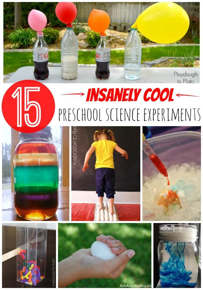 15 Insanely Cool Preschool Science Projects