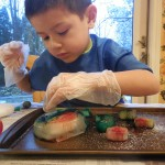 Kids' Science Experiment: Ice and Salt Art