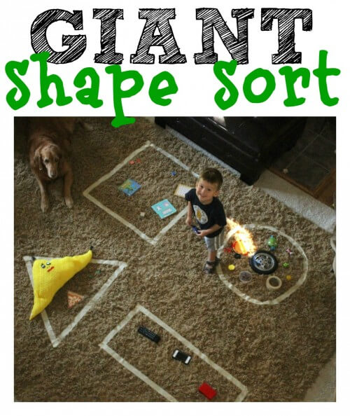 Giant Shape Sort by I Can Teach My Child