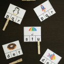 These beginning sound clip cards are such a fun way to practice letter sounds!