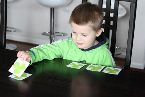 Five Little Shamrocks Preschool Rhyme