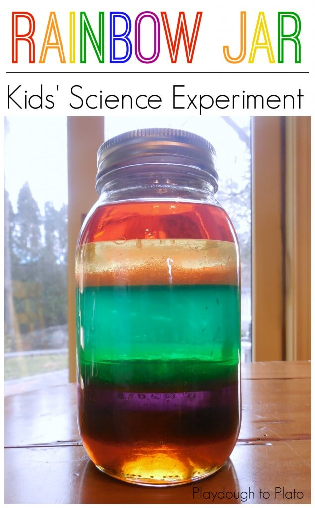 rainbow science project