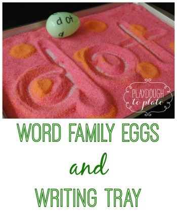 Word Family Eggs 3