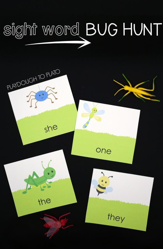 Sight Word Bug Hunt!
