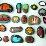 Camping Themed Story Stones