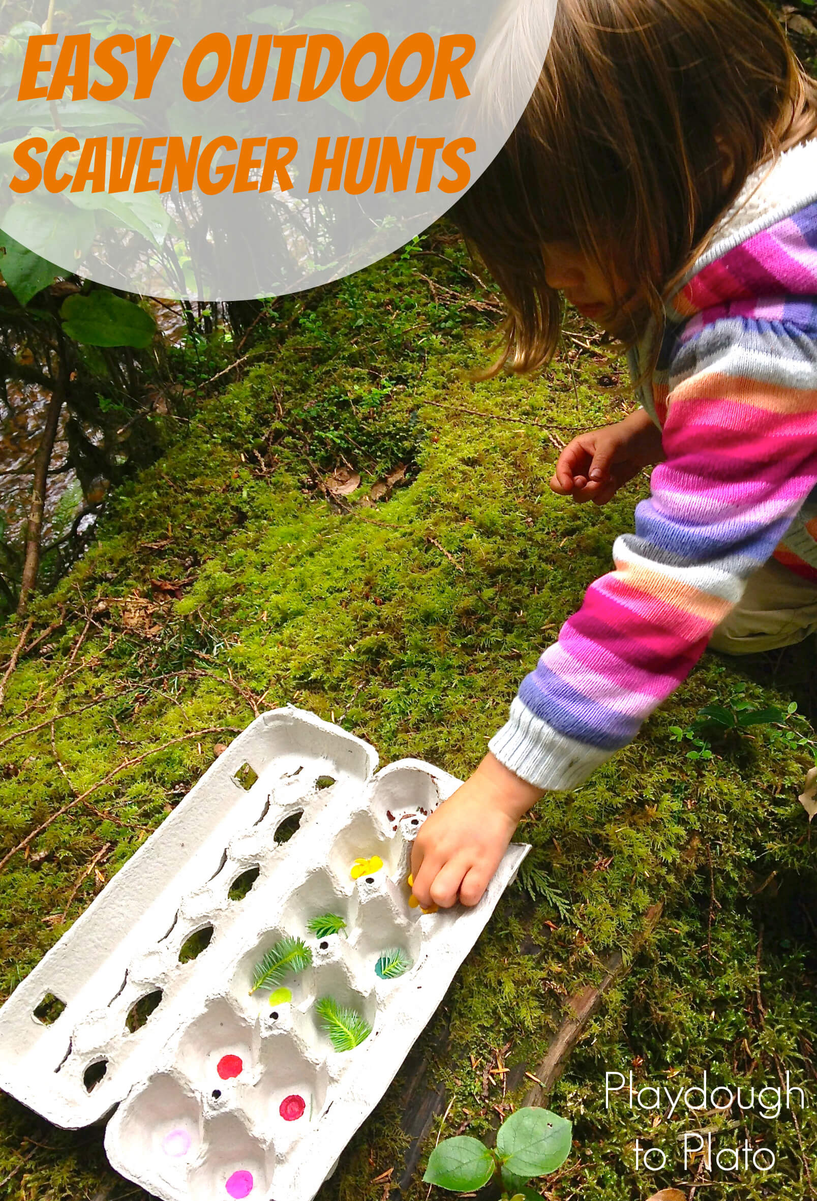 Easy Outdoor Scavenger Hunts for Kids