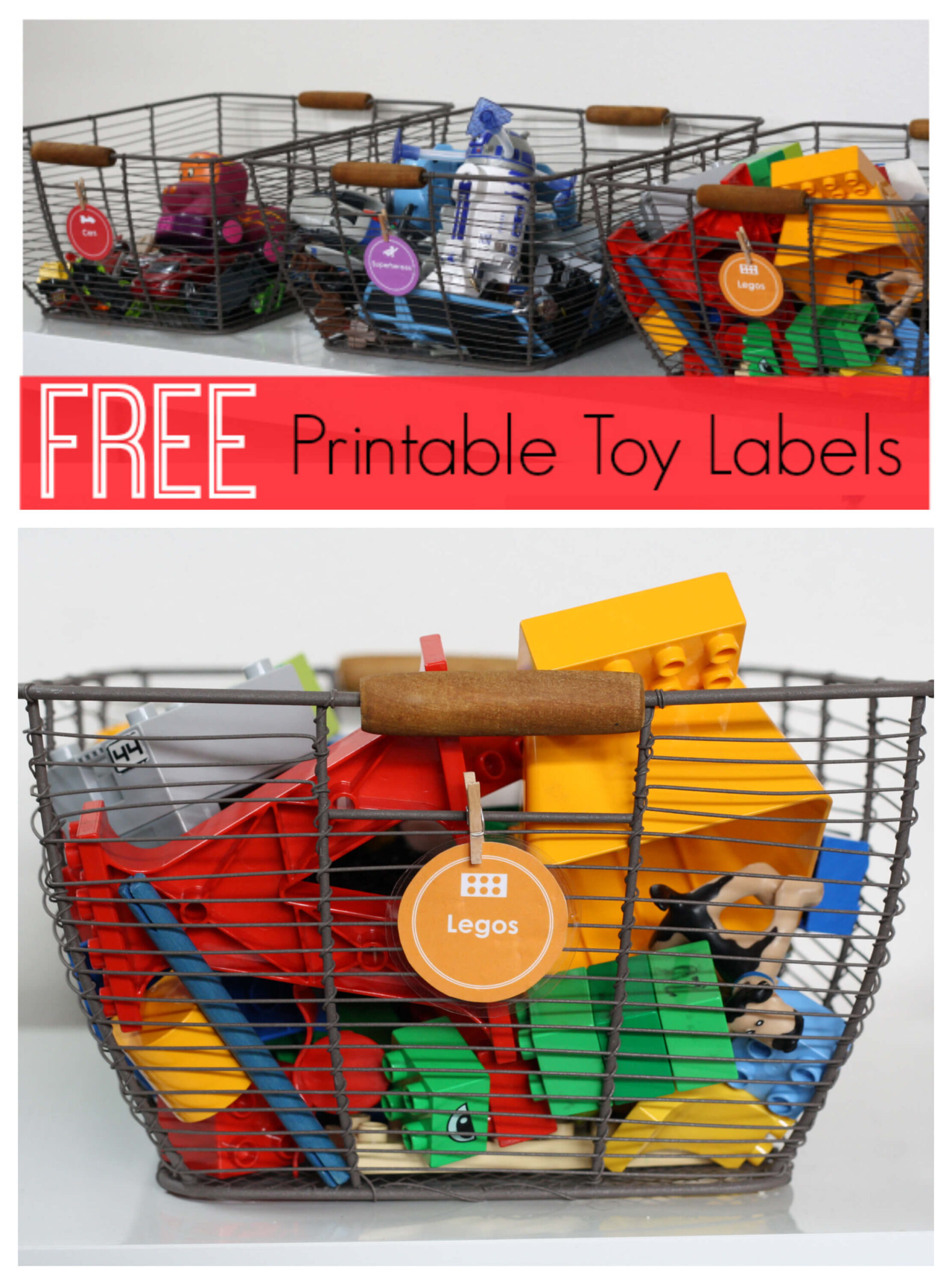 Free Printable Toy Labels