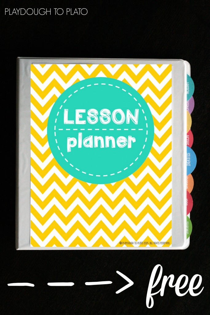 Lesson Plan Book Cover Template : Free lesson plan book playdough to plato