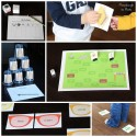 A sample of the 30 engaging, hands-on sight word games.