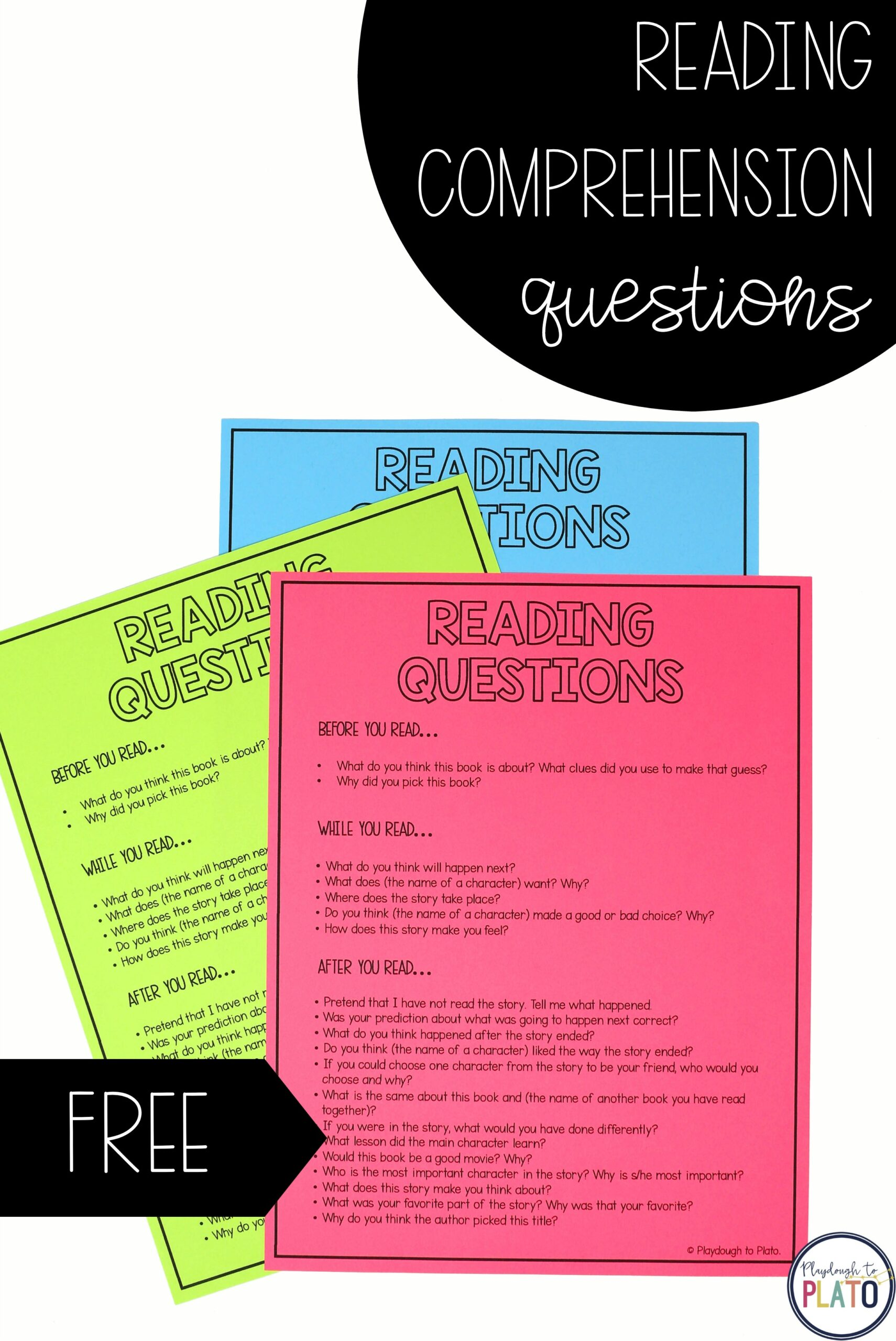 20 Fun Reading Comprehension Questions for Kids