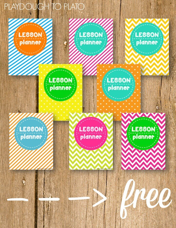 Free lesson plan book. Awesome!!