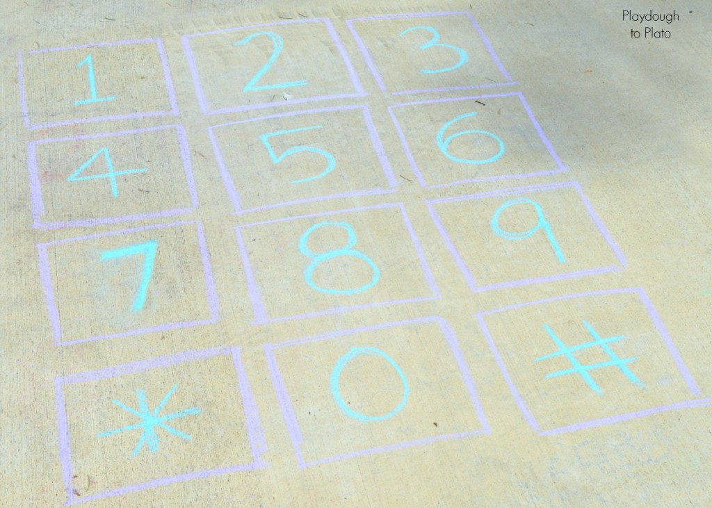 Fun tricks for learning phone numbers. {Playdough to Plato}